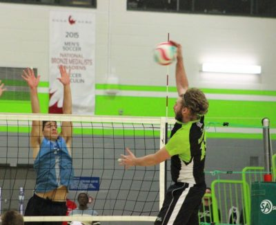 Thunder men's volleyball team conquer first place La Cité 3-1