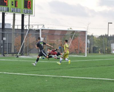 Thunder men's soccer team roar out of the gate, downing Colts