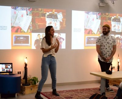 Graphic design grads bring Masterclass to students