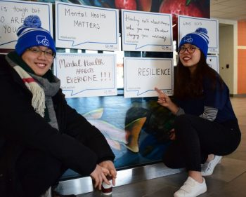 Bell Let's Talk collaborates with  students
