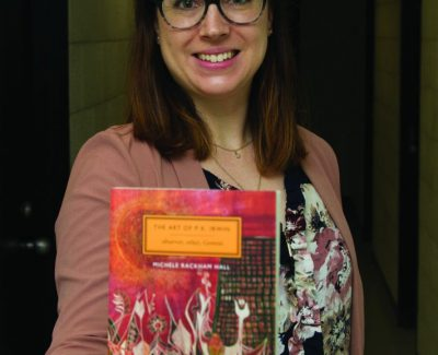 Works of P.K. Irwin highlighted in prof's book