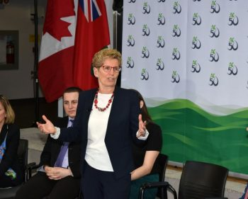 Premier visits Algonquin, announces $2.9 million in extra funding