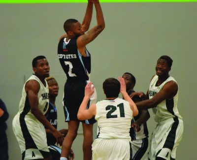 Basketball home opener ends in historic loss