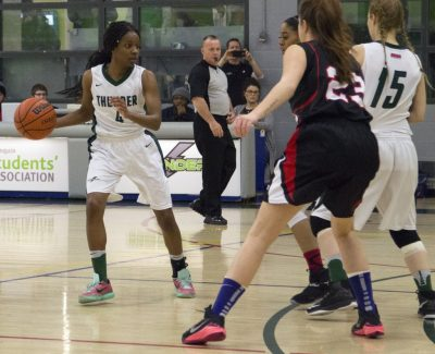 Women's Thunder fall short to perfect St. Lawrence